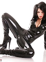 Kinky Fetish Girls Play in Latex
